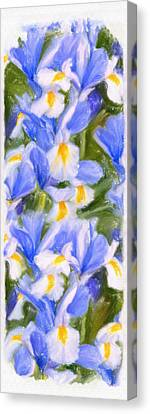 Van Gogh's Iris Canvas Print by Angela A Stanton
