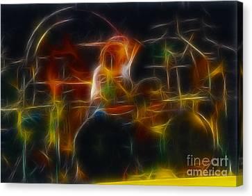 Van Halen-alex-93-gc5-fractal Canvas Print by Gary Gingrich Galleries