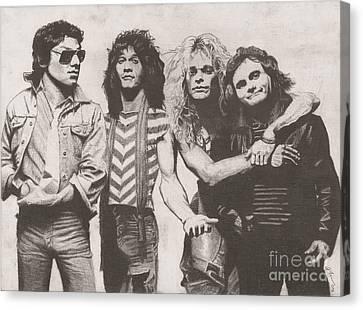 Van Halen Canvas Print by Jeff Ridlen