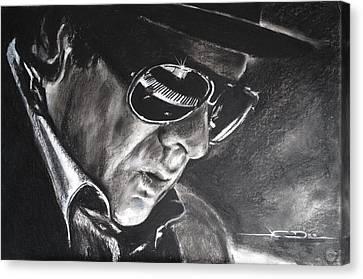 Belfast Canvas Print - Van Morrison -  Belfast Cowboy by Eric Dee