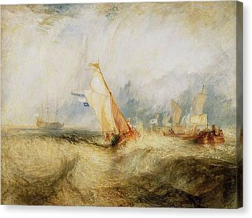 Getty Canvas Print - Van Tromp Going About To Please His Masters by JMW Turner