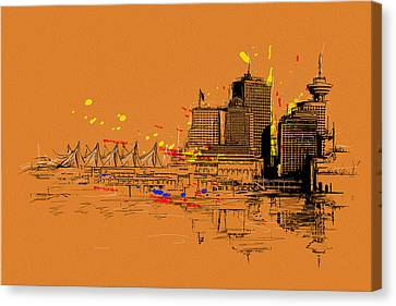 Vancouver Art 006 Canvas Print by Catf
