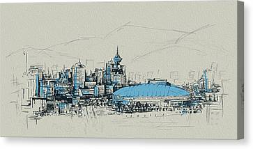Vancouver Art 008 Canvas Print by Catf