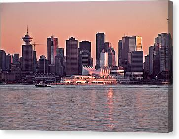 Vancouver Bc Canvas Print by Brian Chase