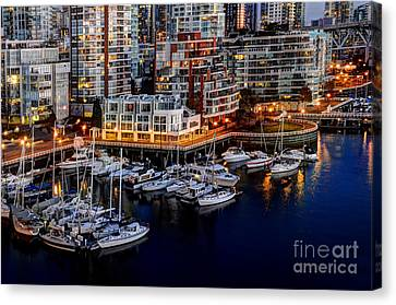 Vancouver British Columbia 10 Canvas Print by Bob Christopher
