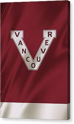 Vancouver Canucks Uniform Canvas Print