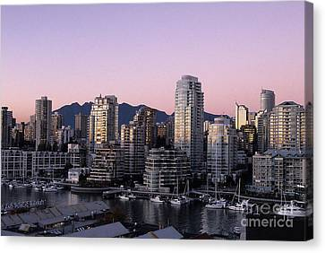 Vancouver Downtown Canada Canvas Print by Ryan Fox