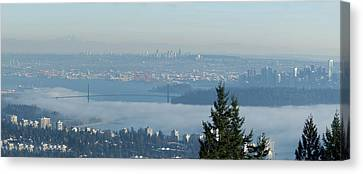 Canvas Print - Vancouver Fog Bank by R J Ruppenthal