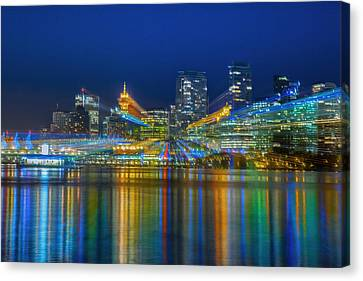 Vancouver Lights Canvas Print