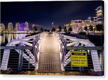 Vancouver Olympic Village Canvas Print by Alexis Birkill