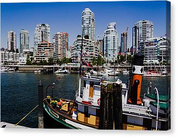 Vancouver Views Canvas Print