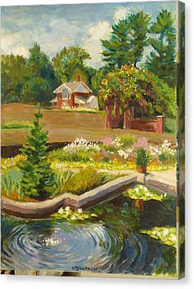 Vanderbilt Italian Garden Canvas Print