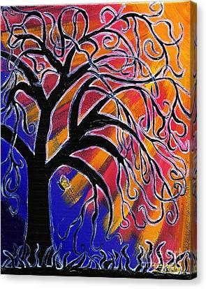 Vanessa Canvas Print by Vicki Maheu