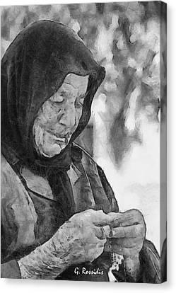 Vangelitsa Canvas Print by George Rossidis