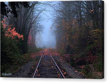 Vanishing Autumn Canvas Print by Sarai Rachel