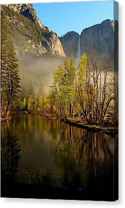 Vanishing Mist Canvas Print