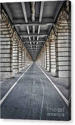 Vanishing Point Canvas Print by Delphimages Photo Creations