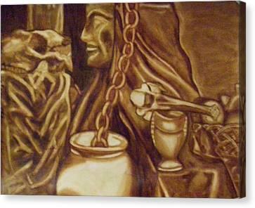 Vanita Canvas Print by Thomasina Durkay
