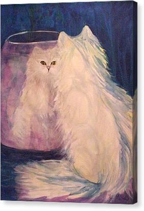 Vanity Canvas Print by Carolyn LeGrand