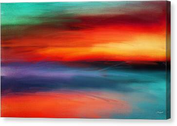 Vanity Of Its Rays Canvas Print by Lourry Legarde