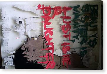 Drips Canvas Print - Vanity's Daughter by Temm Bobby