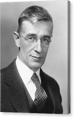Vannevar Bush Canvas Print