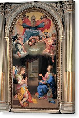 Vanni Francesco, Annunciation, 16th Canvas Print