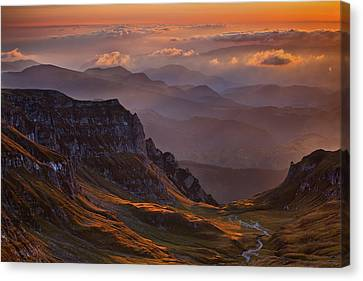 Romania Canvas Print - Vantage Point by Szabo Zsolt Andras