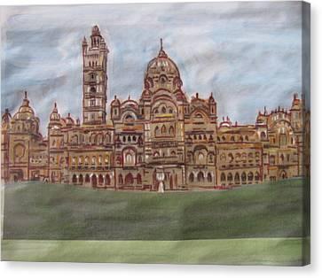 Canvas Print featuring the painting Varadara by Vikram Singh