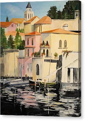 Varenna Canvas Print by Alan Lakin
