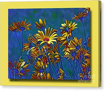 Canvas Print featuring the photograph Variations On A Theme Of Florid Dreams by Chris Anderson