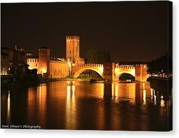 Varona Castel Vecchio Italy Canvas Print by Isaac Silman