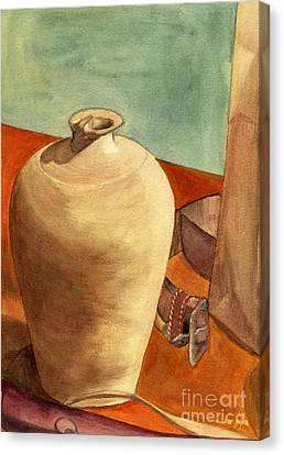 Vase Still Canvas Print