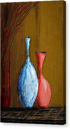 Vases Canvas Print by Vandana Rajesh