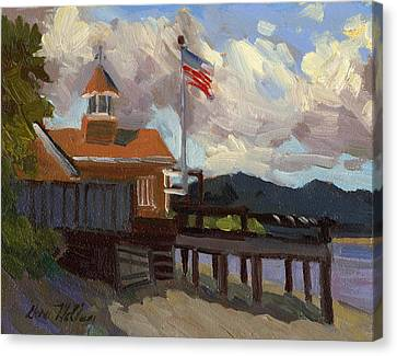 Vashon Island 4th Of July Canvas Print by Diane McClary