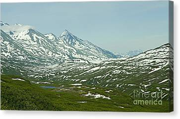 Canvas Print featuring the photograph Vast by Nick  Boren