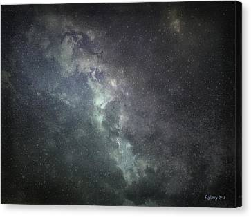 Vast Universe Canvas Print by Cynthia Lassiter