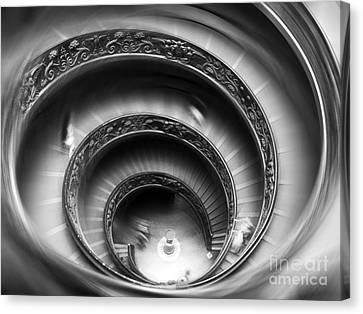 Vatican Stairs Canvas Print