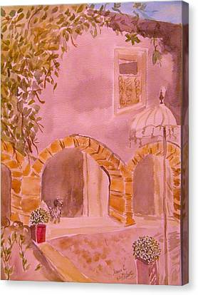 Vaucluse Provence Canvas Print by Manuela Constantin