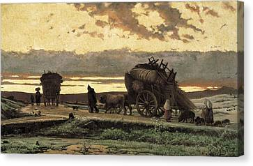 Vayreda I Vila, Joaquim 1843-1894 Canvas Print by Everett