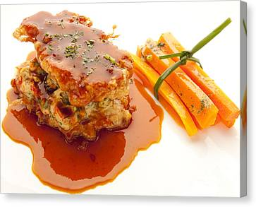 Veal Canvas Print by New  Orleans Food