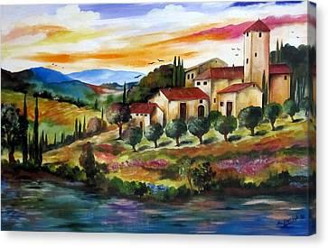 Vecchio Casale Canvas Print