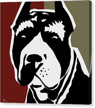 Animal Lover Canvas Print - Vector Pit  by Mark Ashkenazi
