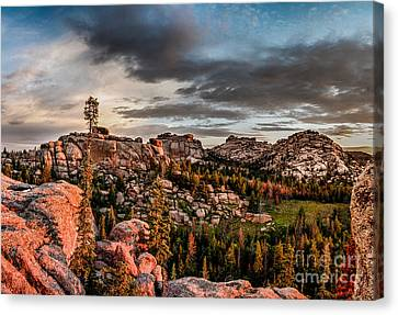 Vedauwoo View Canvas Print