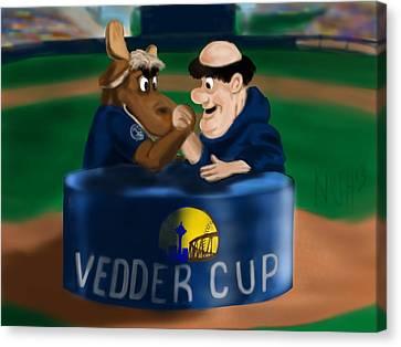 Vedder Cup Mascots Canvas Print by Jeremy Nash