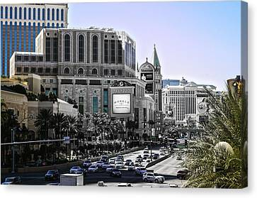 Vegas Fading Canvas Print by Camille Lopez