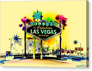 Vegas Weekends Canvas Print by Az Jackson