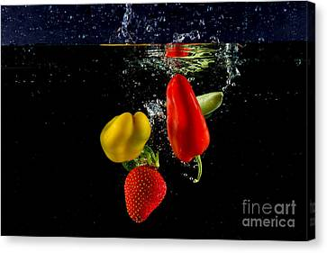Vegetable Soup For The Soul Canvas Print by Rene Triay Photography