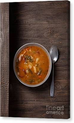 Vegetable Stew Canvas Print by Mythja  Photography