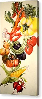 Vegetables No. 1 Canvas Print